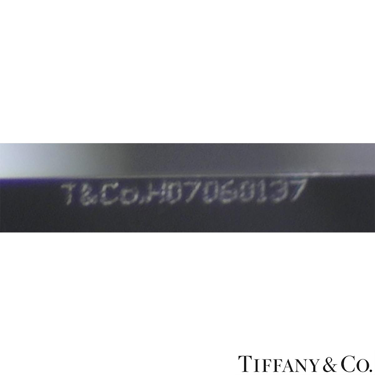 Tiffany & Co. Platinum Diamond Setting Ring 1.52ct D/VS2